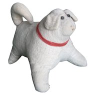 Antique Amish Stuffed Cloth Dog