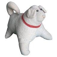 Antique Amish Stuffed Cloth Dog