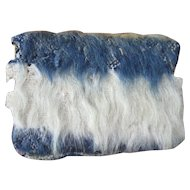 Antique Sewing, Needle Case, Mohair Blanket, NY