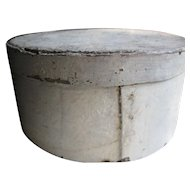 Antique Primitive Pantry Box, Oyster Paint