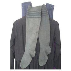 Antique Amish Adult Stockings