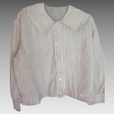 Early Child's Homespun Shirt
