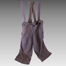 Vintage Amish Boy's Broad-fall Trousers, Midwest