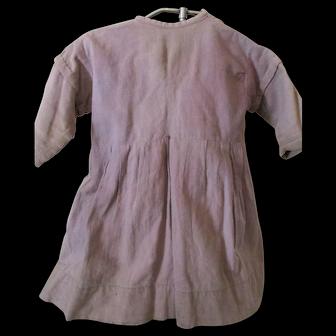 Antique Amish Child's Purple Dress, c1890, Lancaster