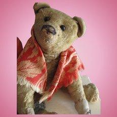 "Antique Apricot 10"" Teddy Bear, Morris"