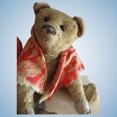 "Antique Apricot 10"" Teddy Bear, Morris"