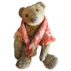 "Antique Apricot 10"" Teddy Bear, Rose"