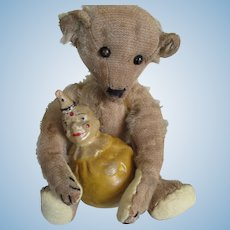 "Antique American 9"" Teddy Bear, Ideal-Type"