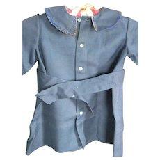 Vintage Child's Blue Wool Coat, Lancaster county, PA