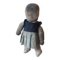 "Vintage Amish 15"" Cloth Doll, c 1930-40's."