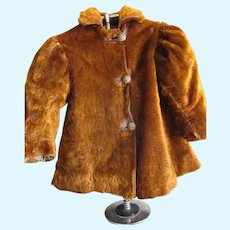 Antique Child's Mohair Coat  for Doll/Bear