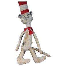 "Vintage The Cat in the Hat, Dr. Seuss 26"" Plush Toy, Impulse Items Original"