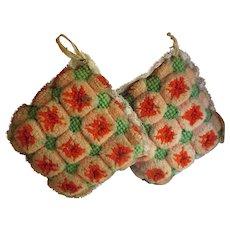 Vintage Amish Folk Art-Strawberry Pincushions, Large