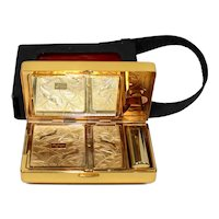 Vintage ELGIN Art Deco Style 7 in 1 Compact Purse Bag