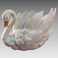 Porcelain Swan Dish