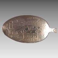 Nowata Oklahoma Sterling Souvenir Spoon