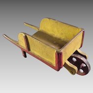 Cast Iron Toy Wheelbarrow
