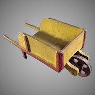 Cast Iron Toy Wheelbarrow