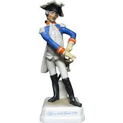 Goebel  Pre Napoleonic Military Figurine Officer of the Guard 1786