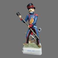 Goebel Napoleonic Military Figurine Artillery Man 1805