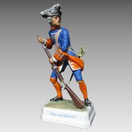 Goebel Pre Napoleonic Military Figurine Soldier of the Guard 1757