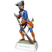 Goebel Pre Napoleonic Military Figurine Soldier of the Guard 1757