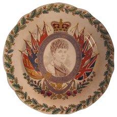 Wedgwood Eturia Queen Alexandra Coronation Commemorative Plate 1902