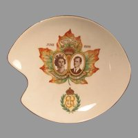 Adderley Bone China Dish 1959 Elizabeth and Philip Canada Commemorative