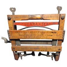Salesman Sample Miniature Wringer Anchor Brand Lovell Manufacturing Erie - Red Tag Sale Item
