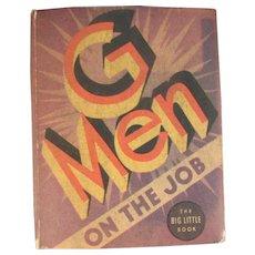 GMen on the Job Big Little Book 1935