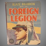 Blake Brandon with the Foreign Legion Big Little Book 1938