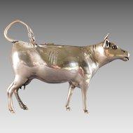 Dutch 833 Silver Cow Creamer