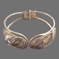 Sterling Silver Clamper Bracelet by Danecraft