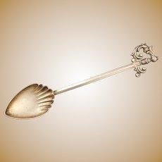 Sterling SIlver Demitasse Spoon with Sword Handle