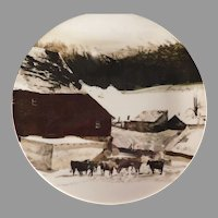 Andrew Wyeth Plate 'The Kuerner Farm' for Georg Jensen