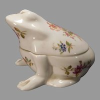 Hammersley Bone China Frog Box Howard Sprays