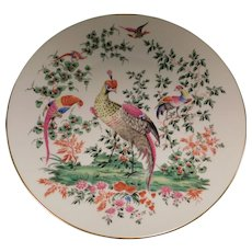 Royal Worcester Bone China Fabulous Birds Plate Second in Series
