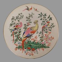 Royal Worcester Bone China Fabulous Birds Plate First in Series