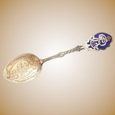 Sterling Commemorative Spoon Royal Family Canada 1901