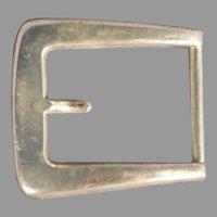 Sterling Silver Belt Buckle by Blackinton 1043