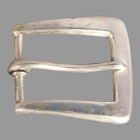 Sterling Silver Belt Buckle by Blackinton 2795