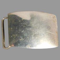 Sterling Silver Belt Buckle by Blackinton 393