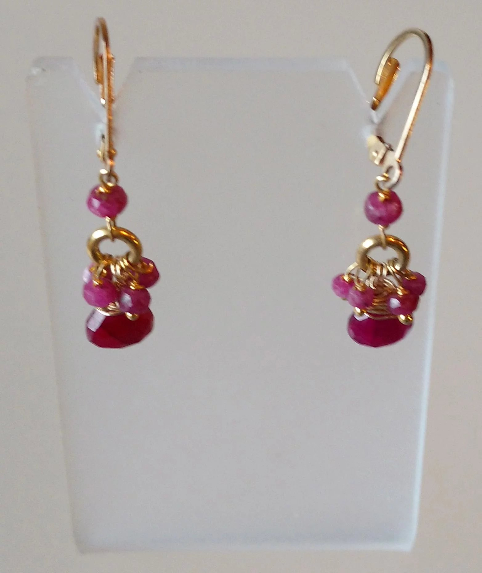 red ruby design opal angelique ethiopian briolettes the cluster valltasy earrings with pink