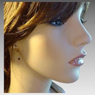 Aquamarine, Agate and Labradorite Petite Earrings