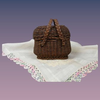 1880's Picnic Basket for Your Doll