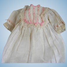 Lovely Old Gown For a Baby Doll or Girl Doll