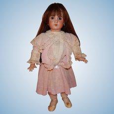 Authentic Original Antique Bebe Poupee doll DRESS last century 1900-1910 NO DOLL