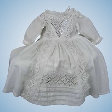 """Authentic Dress for your French Bebe' 24"""" tall"""