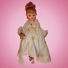 Beautiful Vintage Uneeda Dollikin Doll Red Titian Hair