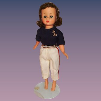 Vintage Madame Alexander Cissette Doll in Nautical Outfit